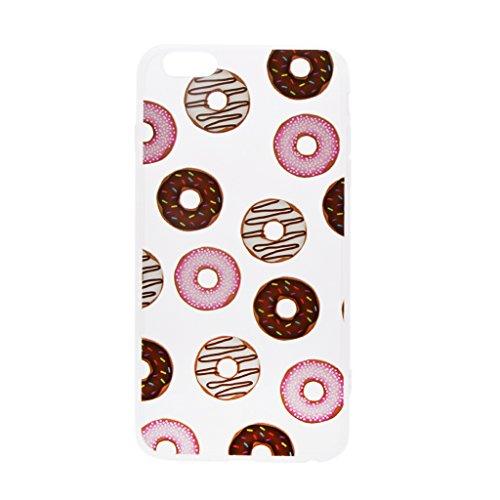 Generic Klar Donut Kreisringmuster Telefon-Kastenabdeckung Shell Für Iphone 6 6s 6 Plus - Für Iphone 6 Plus Color1 Für Iphone 6 6s Farbe1