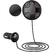 Megadream portatile Bluetooth 3.0trasmettitore FM chiamata vivavoce lettore MP3Adattatore Supporto