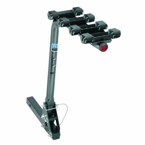 Pro Series 63124 Eclipse Black 4-Bike Hitch Mounted Bike Carrier by Pro Series