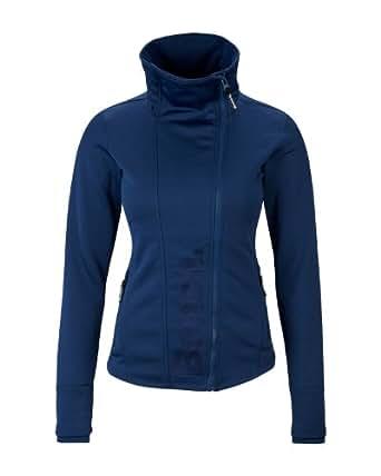 Bench Damen Sweatshirt 2face Jacke Duo blau (estate blue) Medium