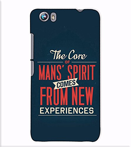 Fuson Designer Back Case Cover for Micromax Canvas Fire 4 A107 (The Core Of Mans Spirit)  available at amazon for Rs.397