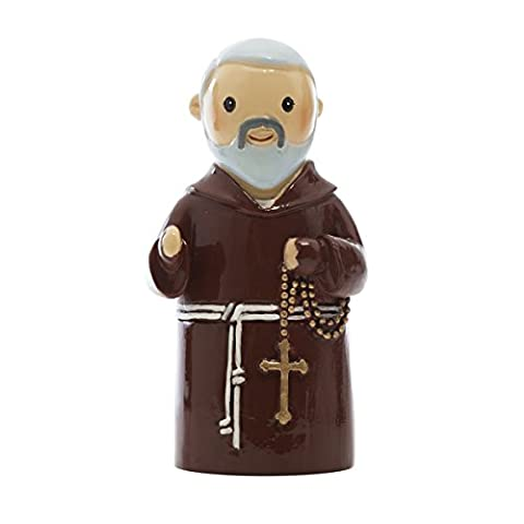 Enesco 155259yx – Little Drops Waters Padre Pio Figure