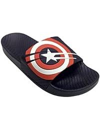 Omen Crocs Captain America Flip Flop And House Slippers - For Men's