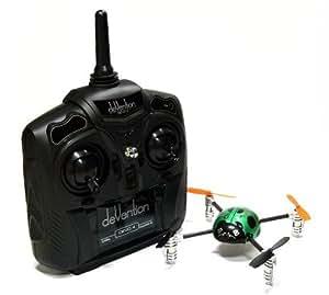 Walkera QR Green Ladybird V2 Quadcopter & DEVO 4 Transmitter RTF (Mode 2) QC600 with RCECHO Full Version Apps Edition