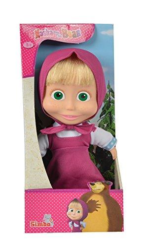 109306372 Bambola Masha cm. 23 con capelli  Colori Assortiti