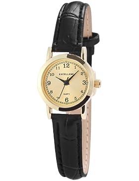 Excellanc Damen-Armbanduhr XS Analog Quarz verschiedene Materialien 190004000038