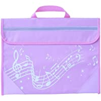 Musicwear: Wavy Stave Music Bag (Pink)