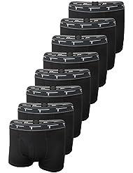 TREN Herren COOL Polyester Stretch Performance SHORTBOXER Boxershort mit Eingriff 8er Pack