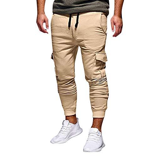 f1848c2ef4 Elecenty Pantaloni sportivi da jogging allentati sportivi da jogging  sportivi da uomo alla moda con coulisse