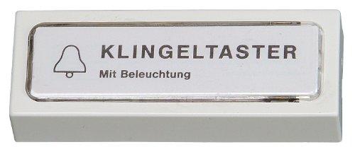 Kopp 205201022 Klingelplatte Kunststoff, weiß