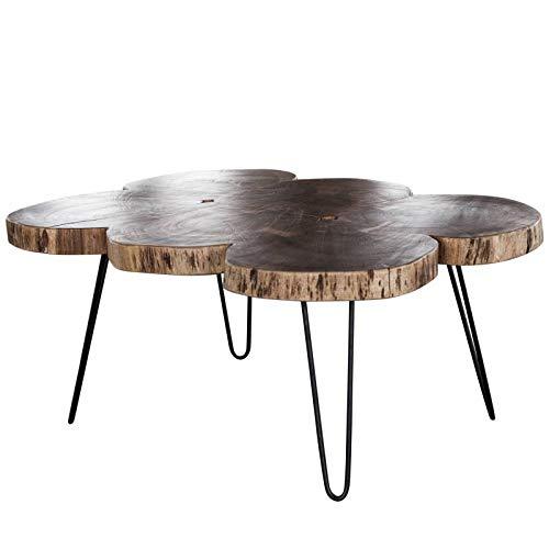 L\'Héritier Du Temps Table Basse Tronc Hinsk Console de Salon ...
