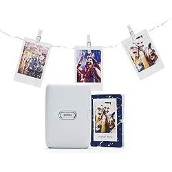 Instax Link Pack imprimante pour Smartphone Blanc cendré
