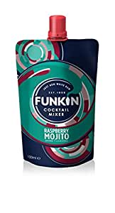 Funkin Raspberry Mojito Cocktail Mixer 120g (Pack of 8)