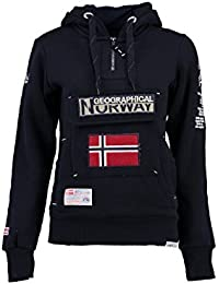 Geographical Norway - Sweat Femme Geographical Norway Gymclass Marine