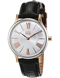 Cerruti 1881 Damen-Armbanduhr XS SIENA Analog Quarz Leder CRM099I212A