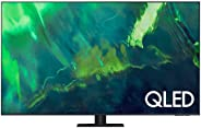 SAMSUNG 55 Inches Q70A QLED 4K Smart TV 2021, Silver, QA55Q70AAUXZN