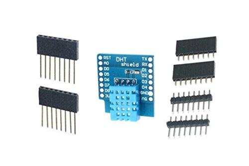 Preisvergleich Produktbild B2Q DHT11 Shield für WeMos D1mini Temp.-Luftfeuchte-Sensor (0034)