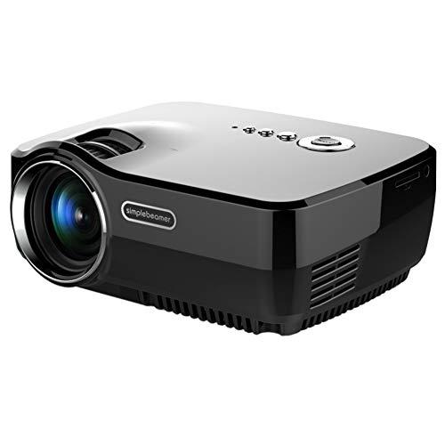 YING Projektor, 1080P HD Intelligenter LED-Projektor, Tragbares Video Projecto GP70
