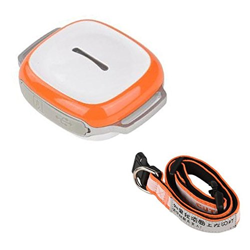 Hrph Mini perseguidor del GPS con el collar impermeable localizador en tiempo...