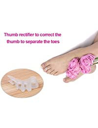MSmask Gel Toe Separator -Toe Spacers Rubber Toe Stretchers Used For Sports Activities Yoga Practice Running For...