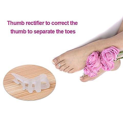 MSmask Gel Toe Separator -Toe Spacers Rubber Toe Stretchers utilisés