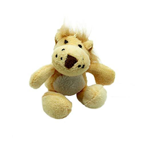 Trifycore Nettes Plüsch quietschendes Spielzeug Pet Zahn Kauen Fetch Tug Molar Spielzeug Pet Hundetrainer für Katzen -Lion Formen, Zubehör für - Hundetrainer Kostüm