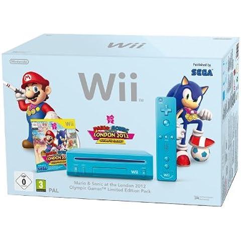 Nintendo Wii + Mario & Sonic at the London 2012 Olympic Games - juegos de PC (Wii, 512 MB, IBM PowerPC, SD, 802.11b, 802.11g,