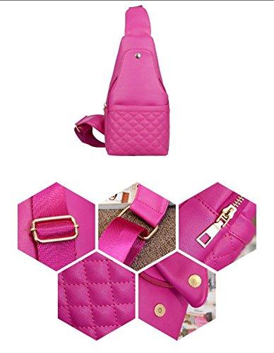 pacco petto/Borse/Messenger Bag/sacchetto di spalla casuale Spiraea/Multiuso tracolla signora-B A