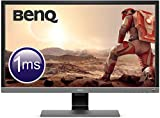 "BenQ EL2870U - Monitor Gaming de 28"" 4K UHD (16:9, 1ms, HDR, HDMI, DisplayPort, Free-Sync, Eye-Care, Sensor Brillo Inteligente Plus, Flicker-free, Altavoces), Gris Metálico"