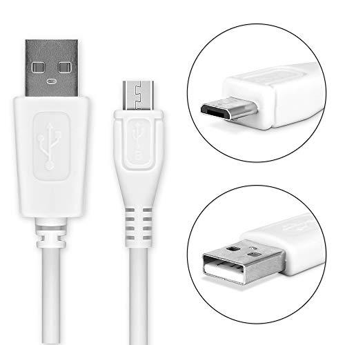 CELLONIC USB Datenkabel (0,95m) für XIDO X70 / X110 / X111 / Z90 / Z110 / Z120 (Micro USB auf USB A (Standard USB)) USB Kabel Ladekabel weiß