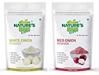 White Onion Powder & Red Onion Powder Combo Pack (1 KG Each)