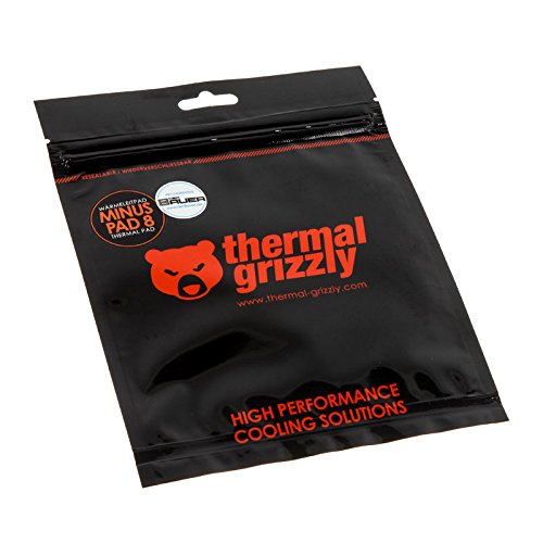 Thermal Grizzly Minus Pad 88W/M · K Heat Sink Compound-Heat Sink COMPOUNDS (30mm, 30mm, 1.5mm,-100-250°C)