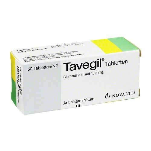 TAVEGIL Tabletten 50 St Tabletten