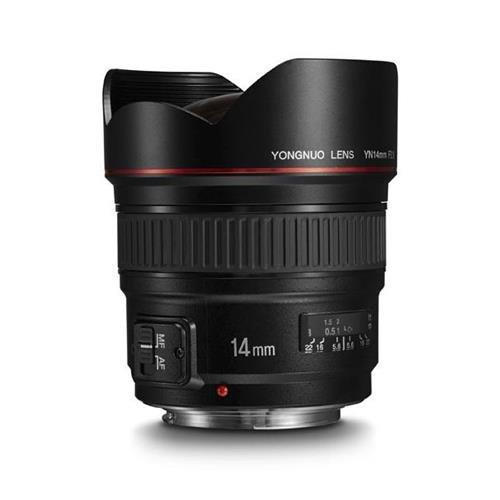 Yongnuo YN 14mm F2.8 for Canon EF-(S)