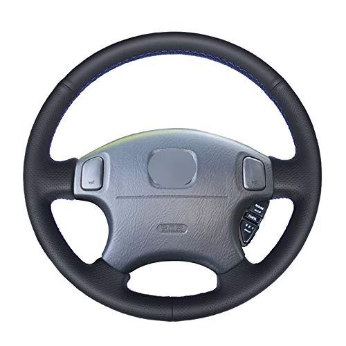 o Lenkradbezug für Honda CRV CR-V 1997-2001 Accord 6 1998-2002 Odyssey 1998-2001 Prelude-rotes Gewinde ()