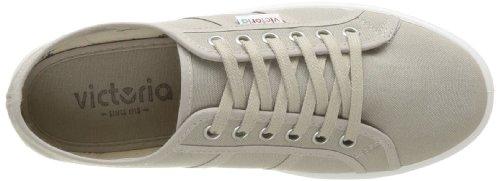 victoria - Sneaker Blucher Lona Plataforma, Donna Beige