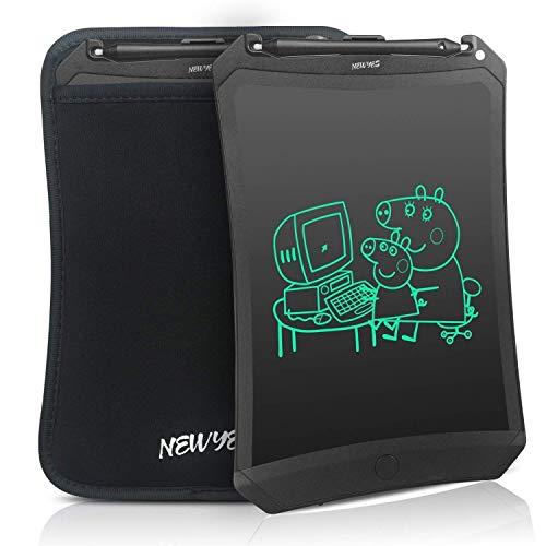 ablet Kinder Tablet Digital Zeichentafel - Bildschirm Sperren 8,5 Zoll - mit Einer Schutzhülle - Schwarz ()