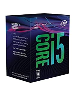 Intel Core i5-8600 Retail - (1151/Hex Core/3.10GHz/9MB/Coffee Lake/65W/Graphics) (B07C1YTYN8) | Amazon Products