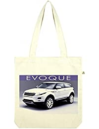 Top Quality 'Recycled' Range Rover Evoque Shopper Tote Bag White