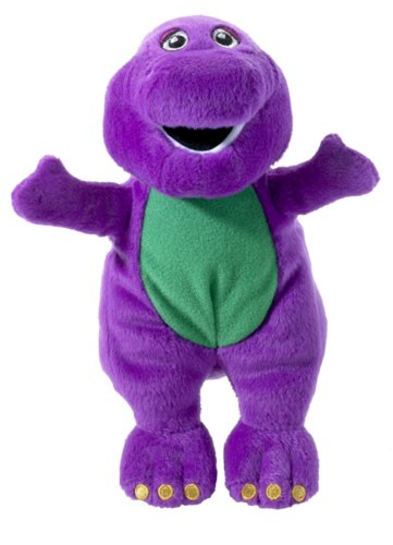 Character Options Barney Plush Collectables - Barney