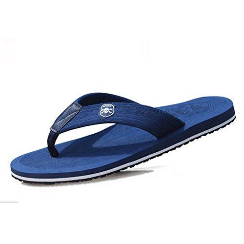 Tongs pour hommes chaussons de plage dété Beck blue