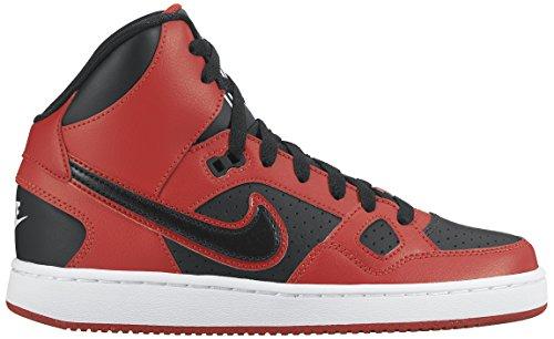 Nike Jungen Son of Force Mid (Gs) Basketballschuhe, Schwarz, Talla Rot/Schwarz/Weiß (University Red/Black-White)