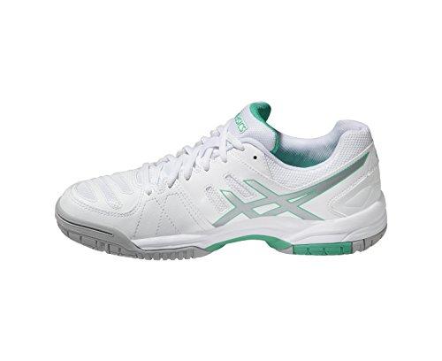 Bianco Da 4 Dedicare Argento Asics Donne Ss15 Gel Scarpa Tennis Verde RXqnC8w