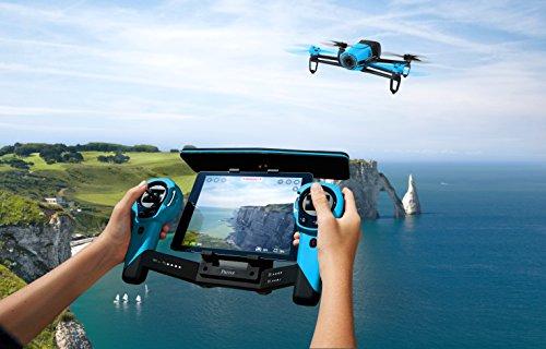 Parrot Bebop Drohne + Parrot Skycontroller blau - 4