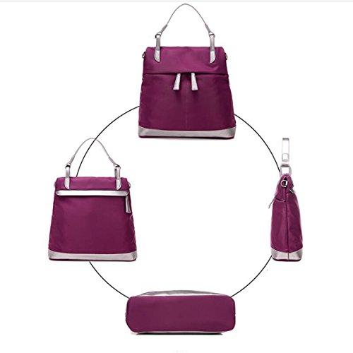Borsa A Tracolla Hobo Borsa Piccola Borsa A Tracolla Della Borsa Impermeabile Borse In Nylon Purple