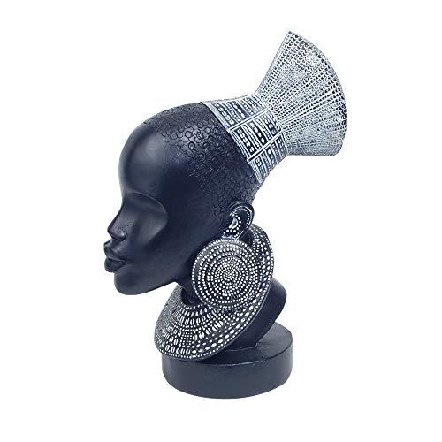 Vidal Regalos Figura Decorativa Cabeza Africana 28 cm