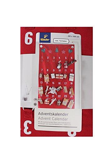 Tchibo Adventskalender mit Ösen Zum Einhängen von Geschenken