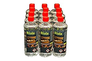 6L PREMIUM BIOETHANOL FUEL FREE DELIVERY UK & IRELAND. For use in fires & stoves. Premium Grade Bioethanol Fuel