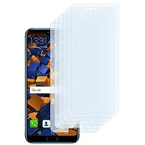 mumbi Schutzfolie kompatibel mit Huawei Honor 10 Folie klar, Displayschutzfolie (6x)