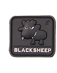Little Black Sheep Swat Pvc Moral Patch